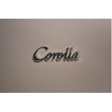 Corolla mud-guard (fender) badge