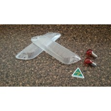 Front fender side marker clear 1968 to 1970