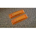 GT Front fender side marker in amber or custom clear