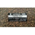 AMI Lustrelife paint colour decal 67-68